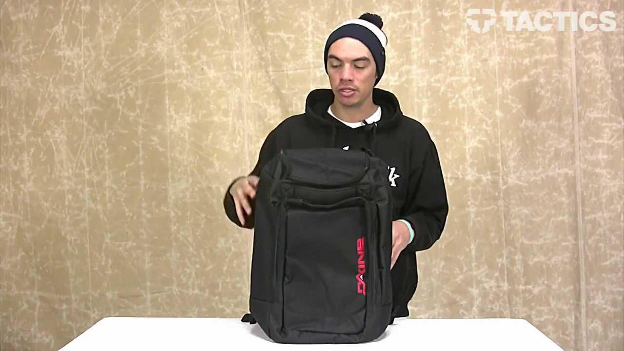 Dakine 2013 Boot Pack Snowboard Bag Review - Tactics.com - YouTube
