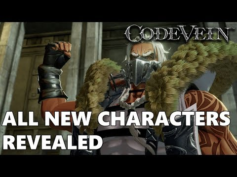 Code Vein - NEW Characters Revealed |  Coco, Murasame, Davis, Io, Queen, & Silva Screenshots