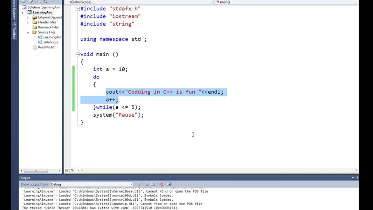 Lec 09 Do Whlie Loop In C With Example C Programming
