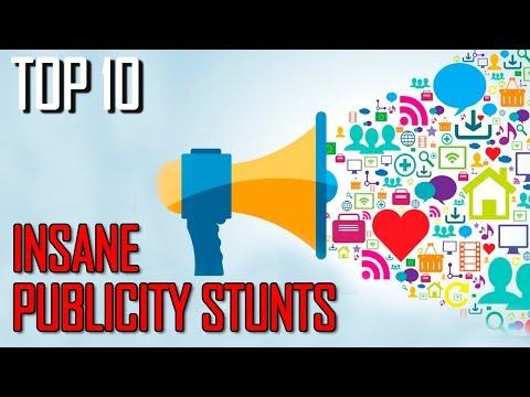 Top 10 Insane Publicity Stunts You Won't Believe - TTC