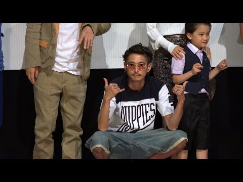 窪塚洋介が都内映画館で行われた映画『アリーキャット』初日舞台あいさつに登壇。 共演した降谷建志の撮影裏話を明かした。 この日は他に市...