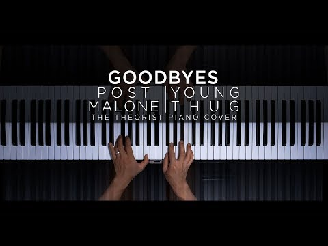 post-malone-ft.-young-thug---goodbyes-|-the-theorist-piano-cover