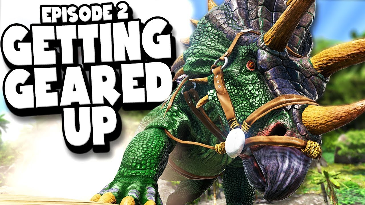 Download GEARING UP FOR A FIGHT - ARK: Survival Evolved ASCENSION Ep #2
