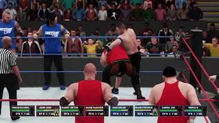 WWE Survivor Series 2017 Shinsuke Nakamura,Shane,John Cena,Randy Orton vs Braun stroman,Samoa Joe,