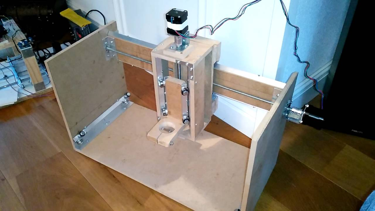 Homemade Diy Cnc Z And Y Axis