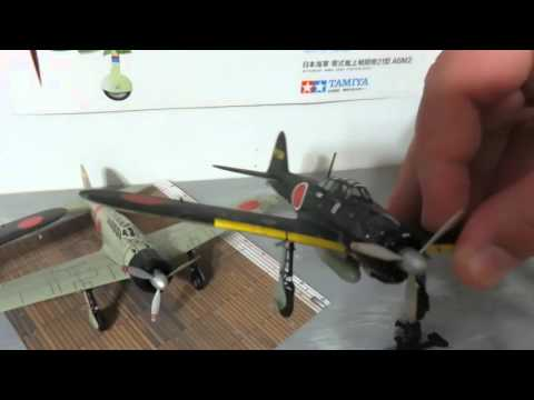 WWII Japanese 1:72 Aircraft Collection