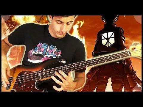 Attack on Titan (Shingeki no Kyojin) Meets Metal Bass