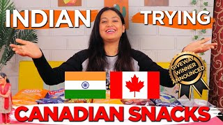 Indian Trying Canadian Snacks || Captain Nick
