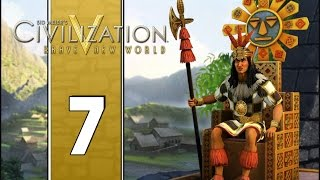 The First Academy - Let's Play Civilization V Gameplay (Deity Gameplay) - Incas - Part 7