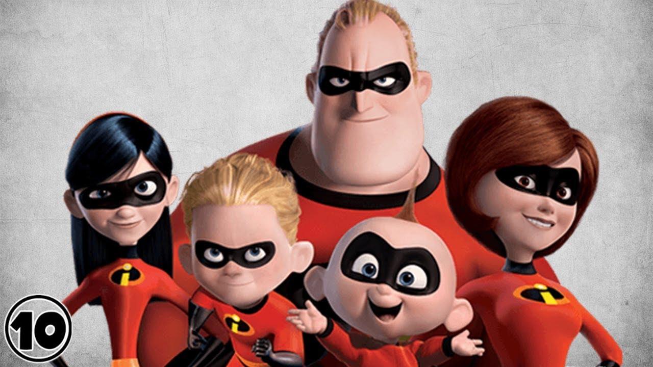 Top 10 Superhero Families Youtube