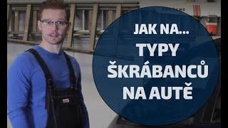 Typy škrábanců na autě a jak je opravit