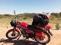Viaje en moto Honda CG Today 125