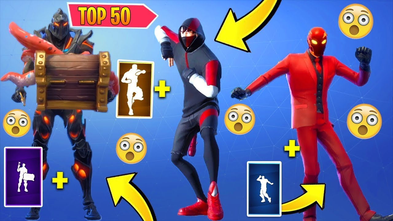 top 50 fortnite dances look better with these skins - top 50 fortnite skins