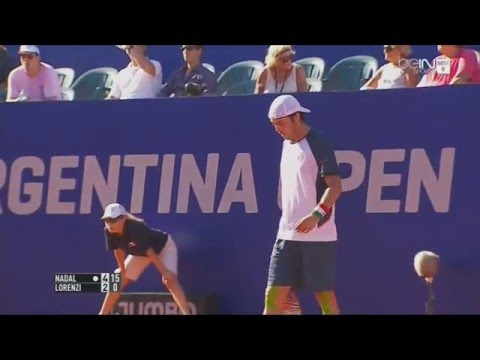 Buenos Aires Open 2016 : Rafael Nadal vs Paolo Lorenzi (1/4 Finale), Highlights SD