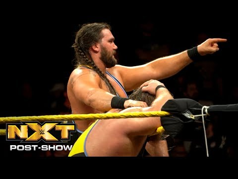 Heavy Machinery react to NXT Tag Team Title Match: NXT Post-Show, Dec. 27, 2018