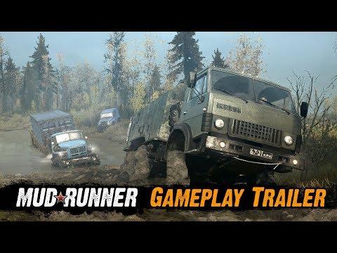 Spintires: MudRunner - Gameplay Trailer - Duur: 2:00.