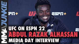 After couple losses Abdul Razak Alhassan out to prove to himself that he belongs in UFC