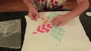 3 Easy Nursery Decor Diy Ideas Using Fabric Mod Podge