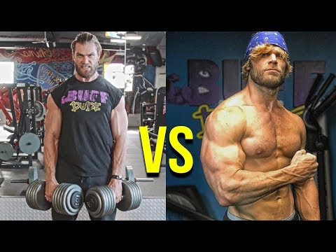 STRENGTH vs SIZE Workouts   Which Training is BEST?