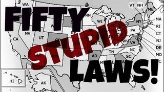 50 Stupid Laws In 50 States (Weird Laws In America) [MATDAWG VLAWG #12]