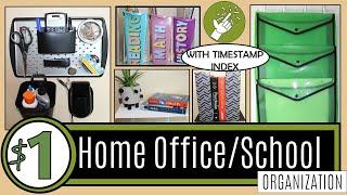 38 Dollar Store Organization Hacks | Dollar Tree Diy ⭐new⭐ Organization Ideas | Home Office & School