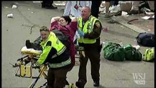 Aftermath From Two Explosions at Boston Marathon