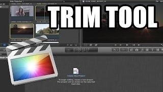 Final Cut Pro X - #55: Trim Tool