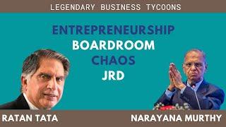 Narayana Murthy and  Ratan Tata in conversation with Shekhar Gupta (part 2/2)
