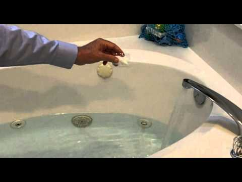 How to Disinfect a Jetted Tub - YouTube