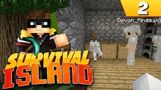 Minecraft Survival Island (Ultra Hardcore): EP2 - STARVING! ;Q_ Thumbnail