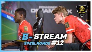 B-STREAM I SPEELRONDE 12 I eDivisie 2019-2020 FIFA20