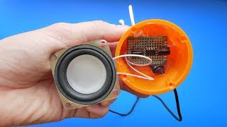 Homemade Invention - Simple Sound Amplifier DIY