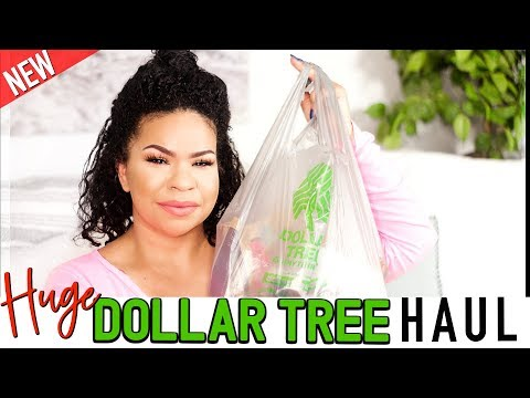 DOLLAR TREE HAUL SUPER LONG! What's New At The Dollar Store 2019 | Sensational Finds