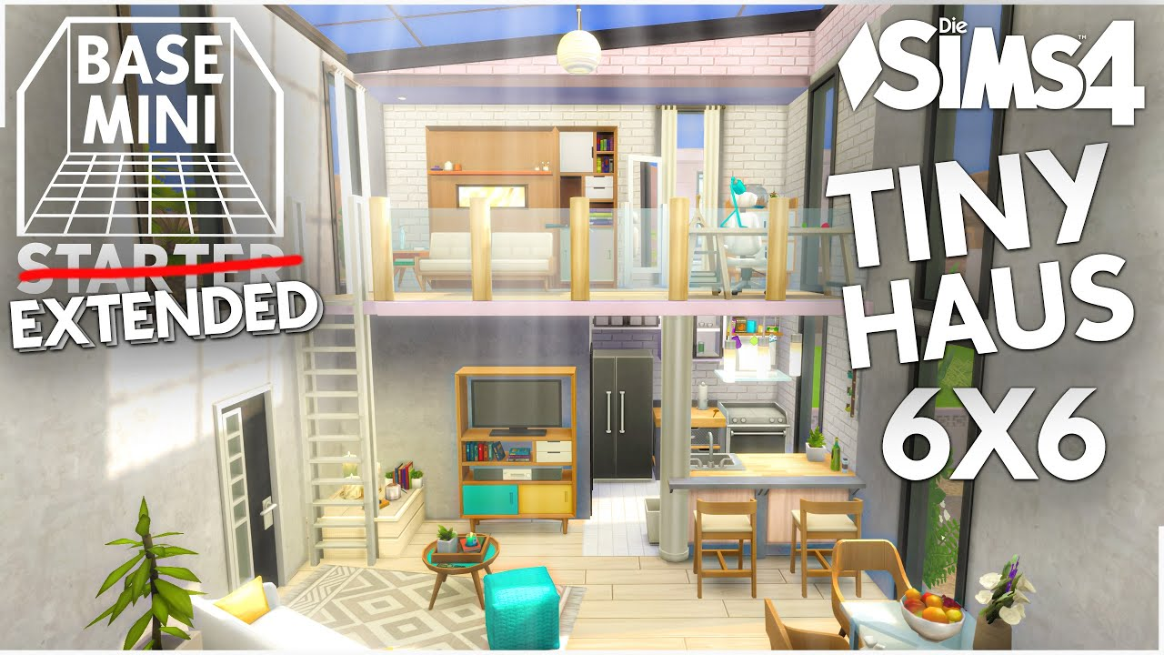 Mini Haus bauen EXTENDED Version   21x21 Die Sims 21 Base Mini Starter 21  Let's Build