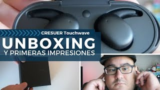 Audífonos Inalámbricos Touchwave por CRESUER   Unboxing y Primeras Impresiones