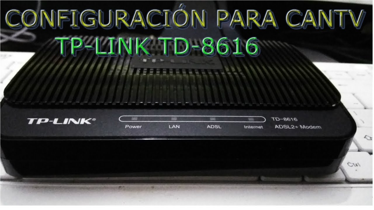 Driver for TP-Link TD-8816 v2 Router