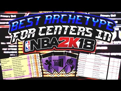 Best Archetype For Centers in NBA 2K18 (IN-DEPTH)