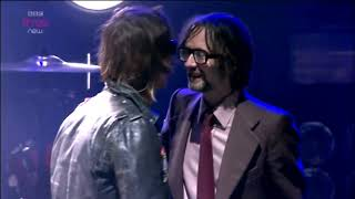 The Strokes - Just What I Needed (feat  Jarvis Cocker)  (Reading 2011)