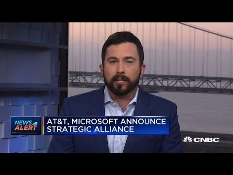 AT&T and Microsoft announce strategic alliance worth more than $2 billion