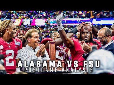 Postgame Analysis: Alabama vs. FSU