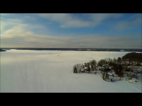 Knife Lake - Mora, MN from a Quad Copter's Point of View