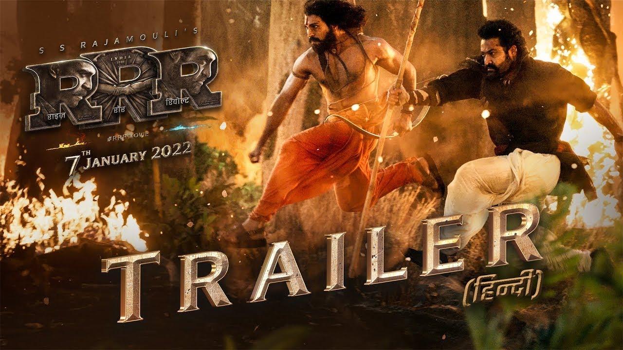 Download RRR : Official Trailer   NTR   Ram Charan   Ajay Devgn  Olivia M   SS Rajamouli   Concept Trailer