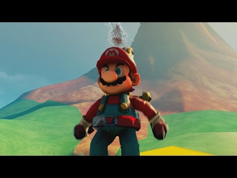 Super Mario Sunshine - Unreal Engine 4!