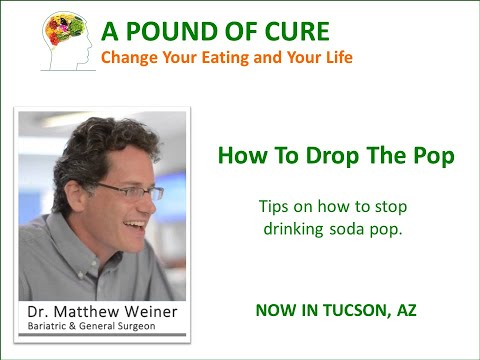 How To Drop The Pop Tips on how to stop drinking soda pop