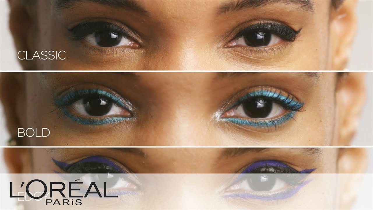l oreal infallible eyeliner how to use