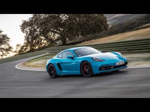 2018 Porsche 718 Boxster GTS and Cayman GTS
