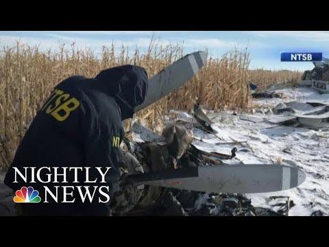 Nine Dead In South Dakota Plane Crash | NBC Nightly News