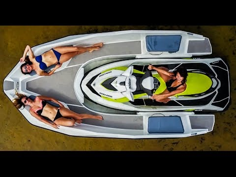 Wave Boat 444 - Boat propelled by a Jet Ski - Sealver