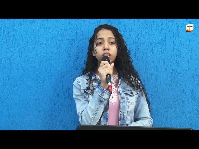 Vem, Celeste Redentor    Raquel   Tabernáculo da Fé Campinas/SP.