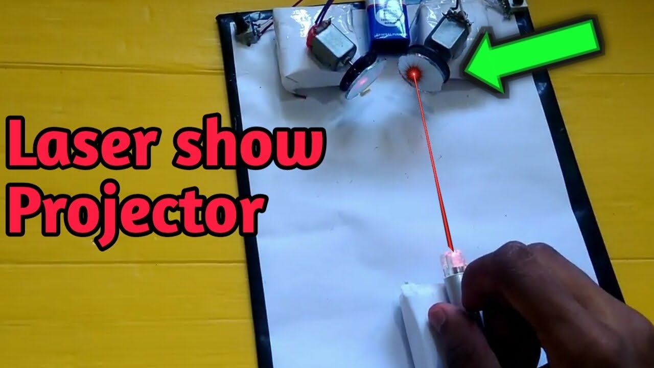 Download Homemade Laser Light Show Projector with Different